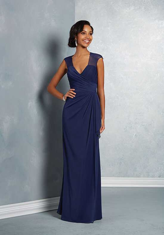 Alfred Angelo Signature Bridesmaids Collection 7412 V-Neck Bridesmaid Dress