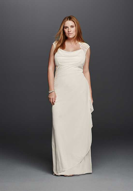 David's Bridal DB Studio Style XS3450W Sheath Wedding Dress