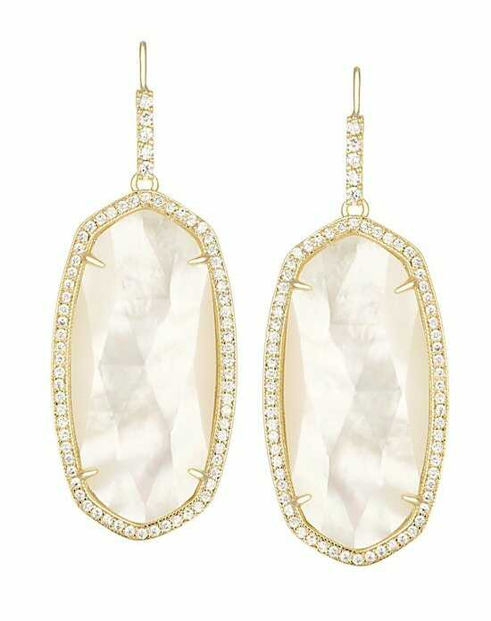 Kendra Scott Ellen Drop Earrings in Ivory Pearl Wedding Earring photo