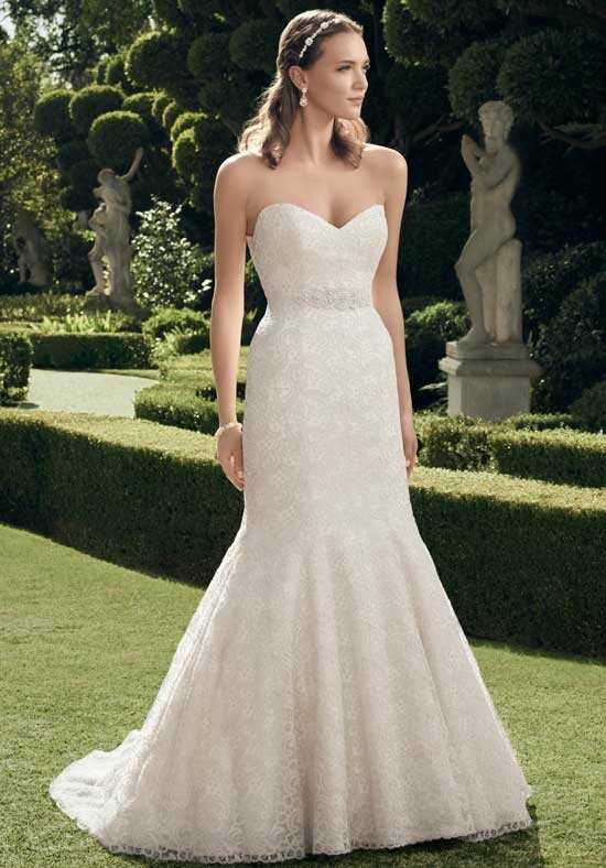 Casablanca Bridal 2176 Mermaid Wedding Dress