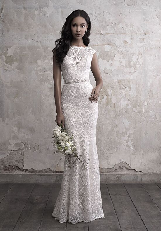 Madison James MJ454 Sheath Wedding Dress