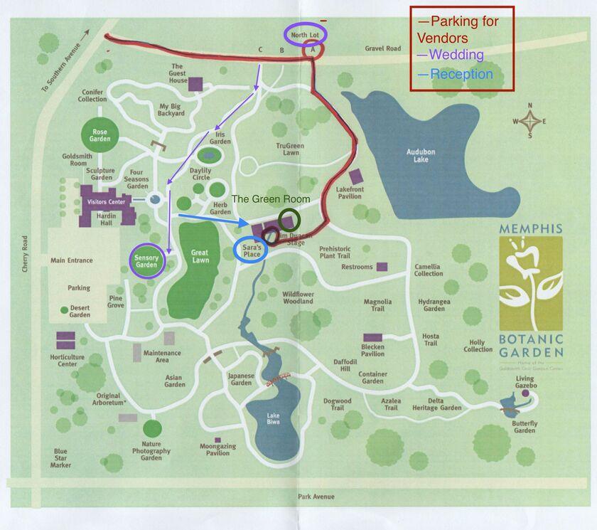 Memphis Botanical Gardens Map Garden Ftempo