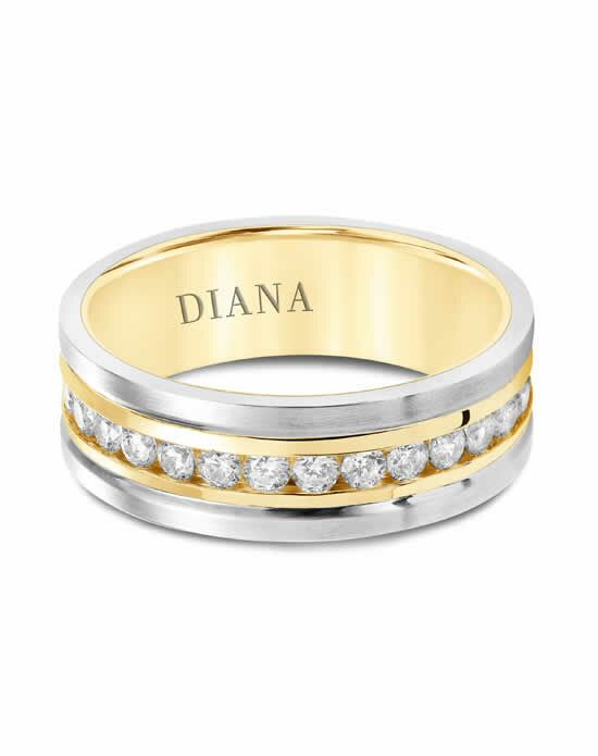 Diana 22-N8790YW100 Gold Wedding Ring