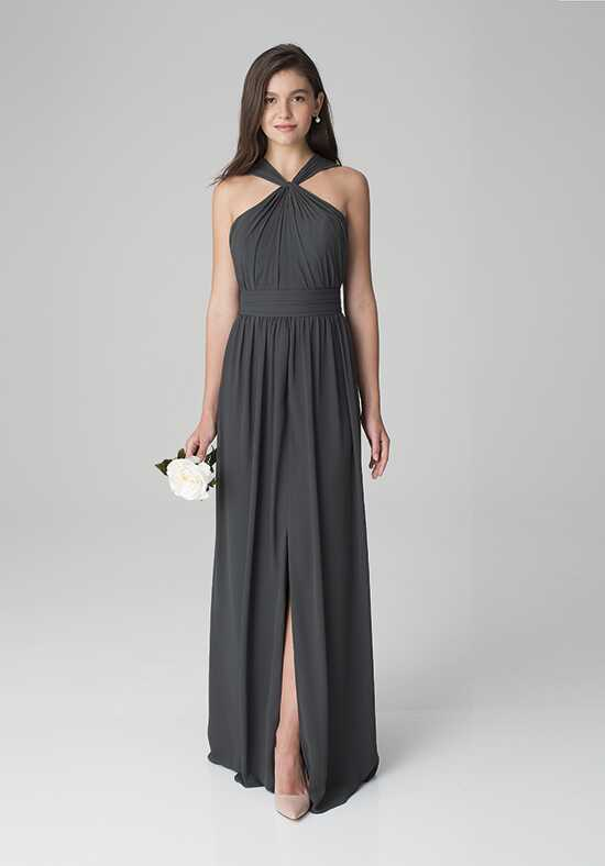 Bill Levkoff 1274 Halter Bridesmaid Dress