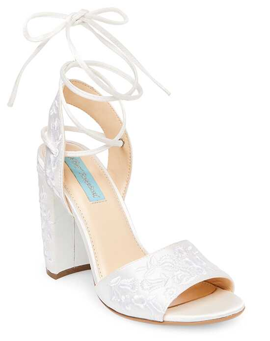 Blue by Betsey Johnson SB-RAINE Ivory, Champagne Shoe