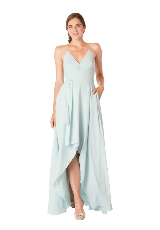 Bari Jay Bridesmaids 1704 V-Neck Bridesmaid Dress