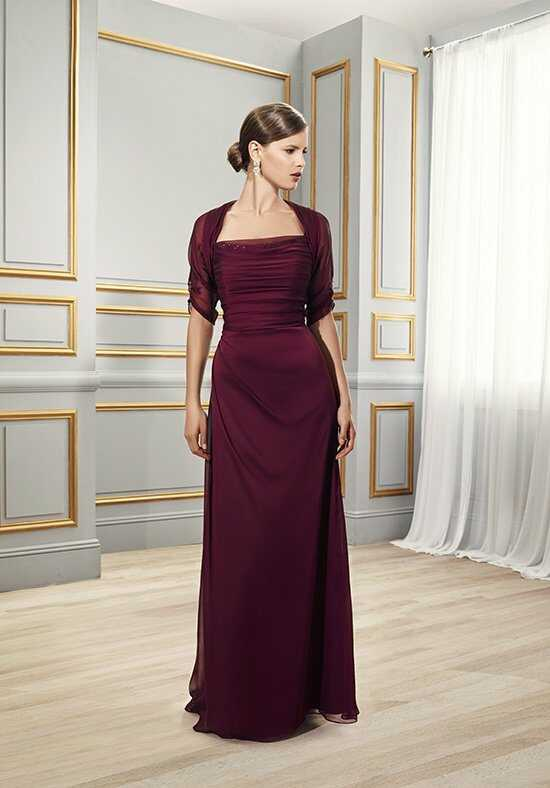 Val Stefani Celebrations MB7510 Red Mother Of The Bride Dress