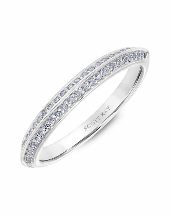Scott Kay 31-SK5607W-L Platinum Wedding Ring