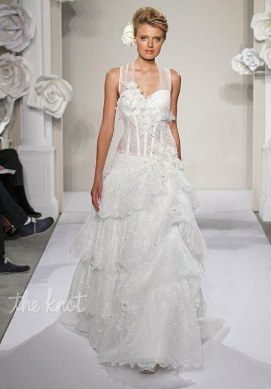Pnina Tornai for Kleinfeld 4215 A-Line Wedding Dress