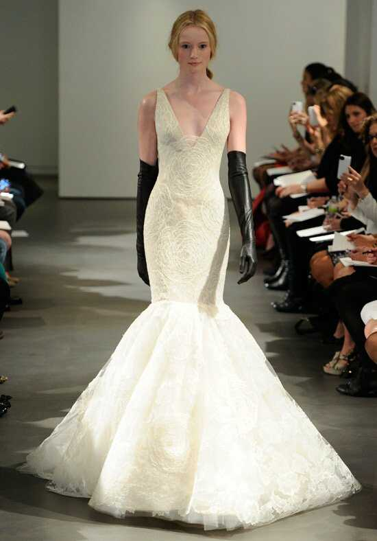Vera Wang Spring 2014 Look 6 Mermaid Wedding Dress