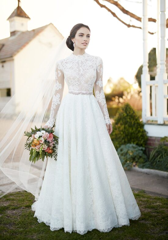 Martina Liana Carter+Jude+Sander A-Line Wedding Dress
