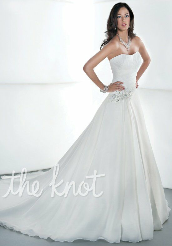 Demetrios 3189 A-Line Wedding Dress