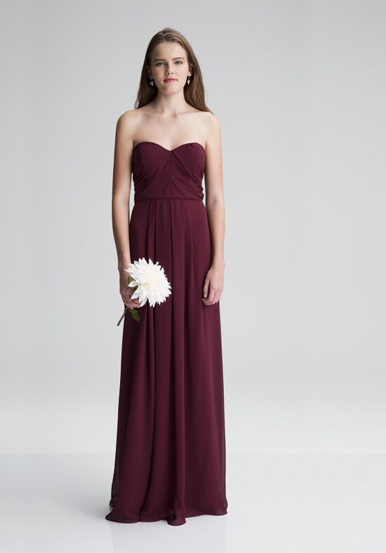 #LEVKOFF 7008 Strapless Bridesmaid Dress
