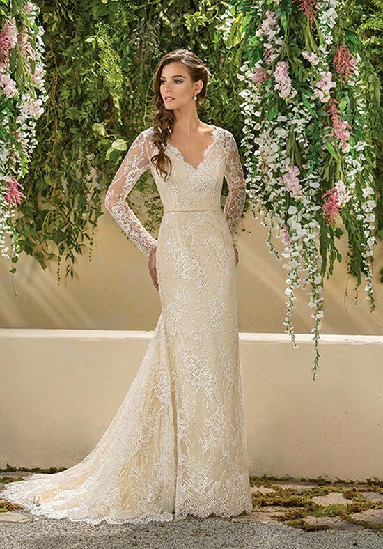 Jasmine Collection F181004 A-Line Wedding Dress