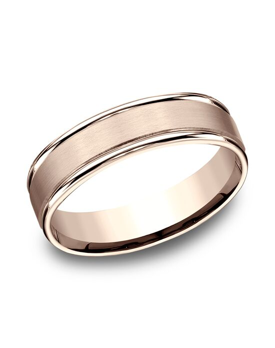 Benchmark RECF7602SR Rose Gold Wedding Ring