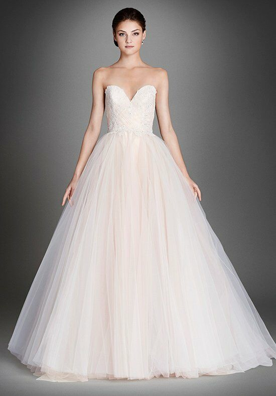 Lazaro 3557 Ball Gown Wedding Dress