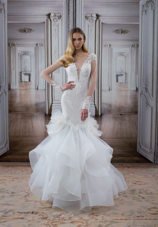 LOVE by Pnina Tornai for Kleinfeld 14480 Mermaid Wedding Dress