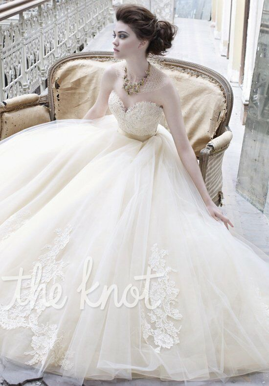 Lazaro 3251 Ball Gown Wedding Dress