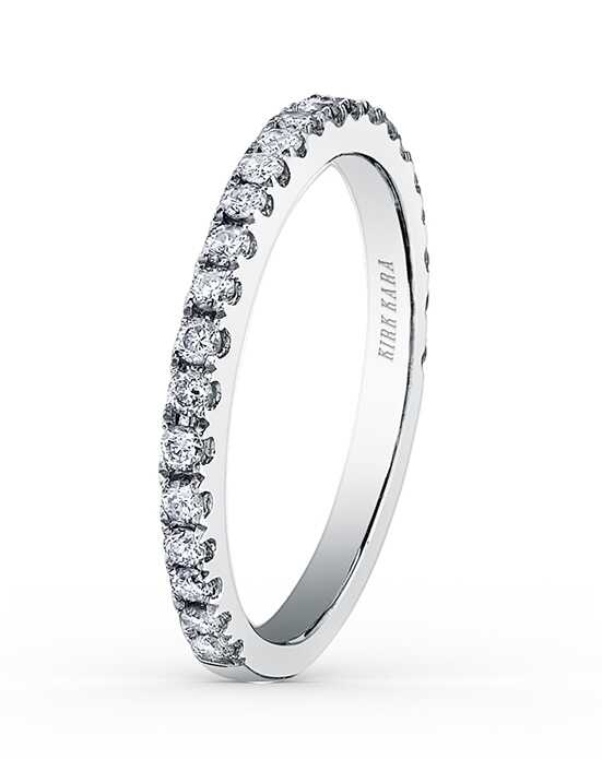 Kirk Kara Carmella Collection K1000D-B White Gold Wedding Ring