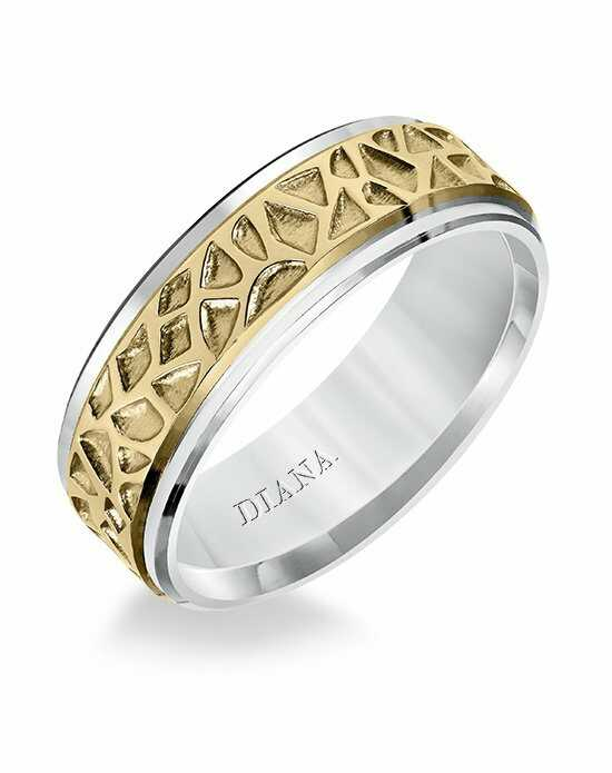 Diana 11-N8581U7-G Gold Wedding Ring