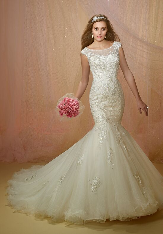1 Wedding by Mary's Bridal 6450 Mermaid Wedding Dress