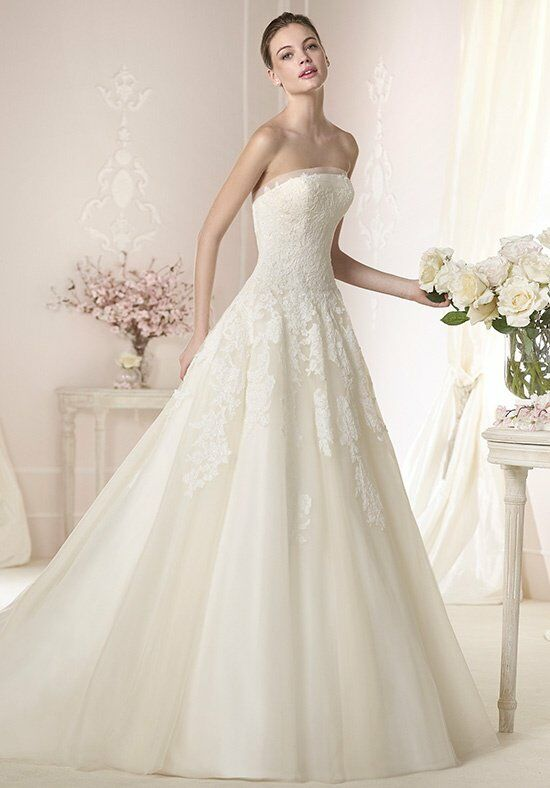 WHITE ONE Danit Ball Gown Wedding Dress