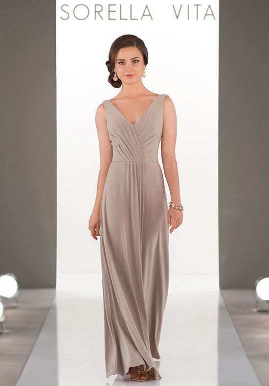 Sorella Vita 8862 V-Neck Bridesmaid Dress