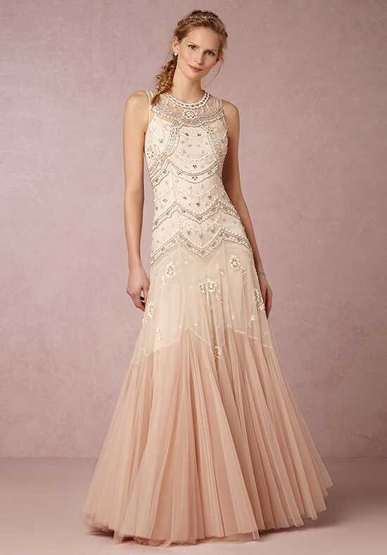 BHLDN Cate Gown Mermaid Wedding Dress