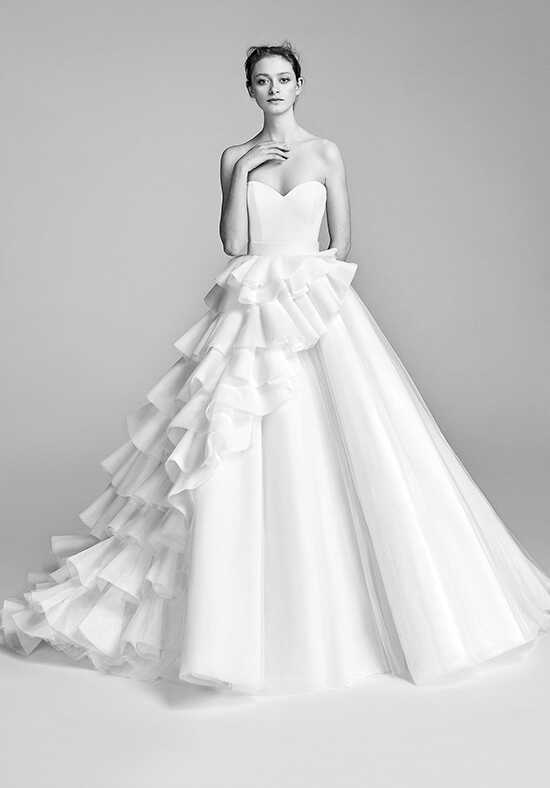 Viktor&Rolf Mariage Layered Couture Volant Gown Ball Gown Wedding Dress