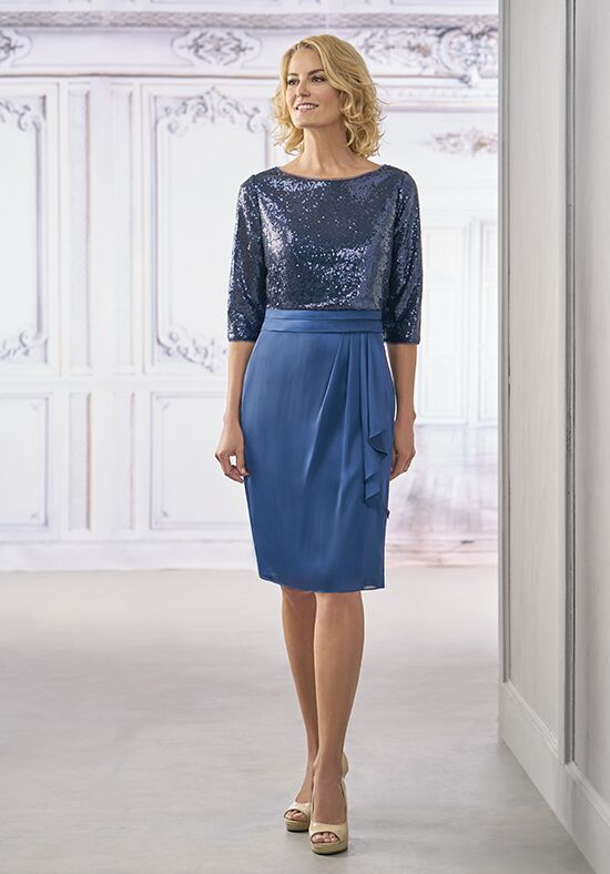 Jasmine Black Label M190006 Blue Mother Of The Bride Dress