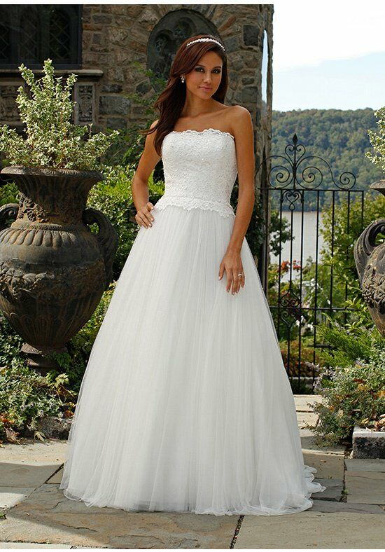 Jovani Bridal JB90850 A-Line Wedding Dress