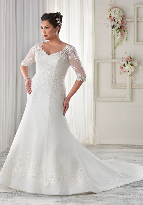 Unforgettable by Bonny Bridal 1606 Wedding Dress