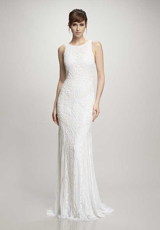 THEIA Tara Sheath Wedding Dress
