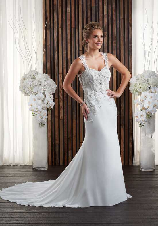 Bonny Bridal 702 Sheath Wedding Dress