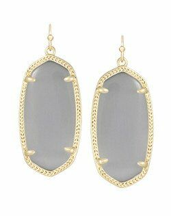 Kendra Scott Elle Gold Earrings in Slate Wedding Earring photo