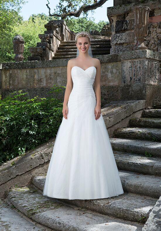 Sincerity Bridal 3895 A-Line Wedding Dress