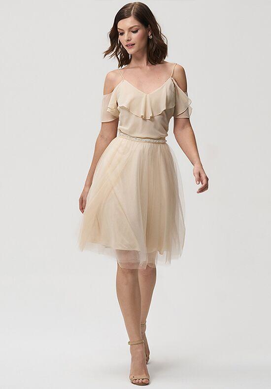 Tea Length Bridesmade Dress