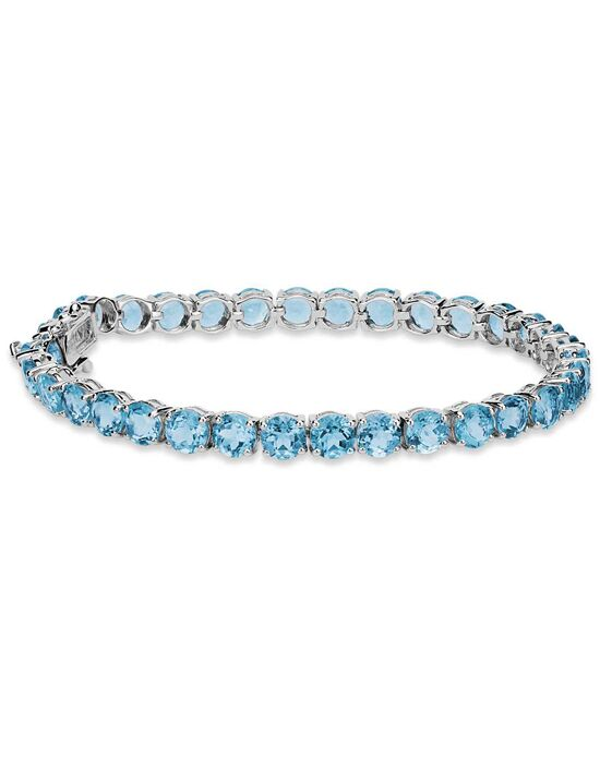 Blue Nile Swiss Blue Topaz Bracelet Wedding Bracelet photo