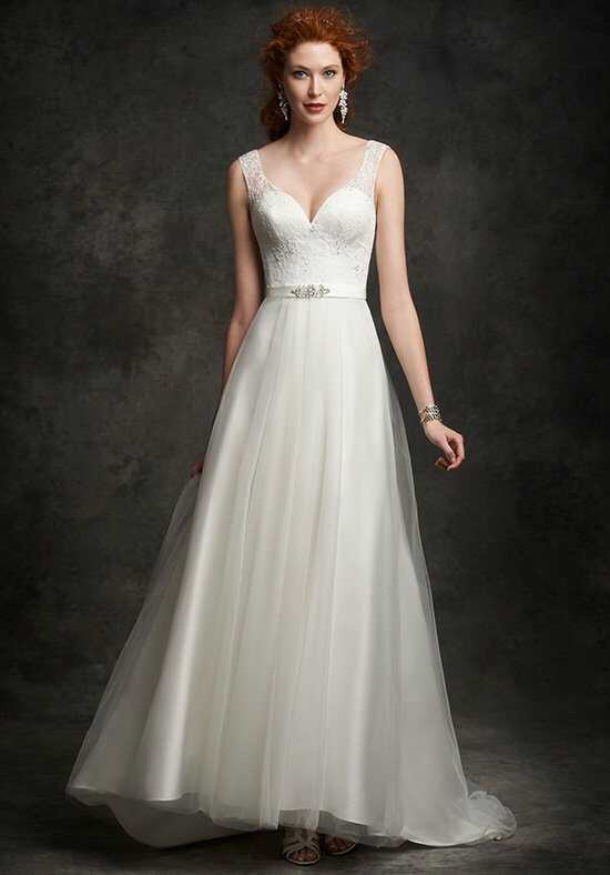 Ella Rosa: Gallery GA2249 A-Line Wedding Dress