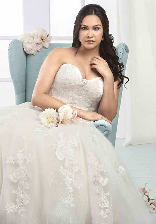Unforgettable by Bonny Bridal 1804 A-Line Wedding Dress