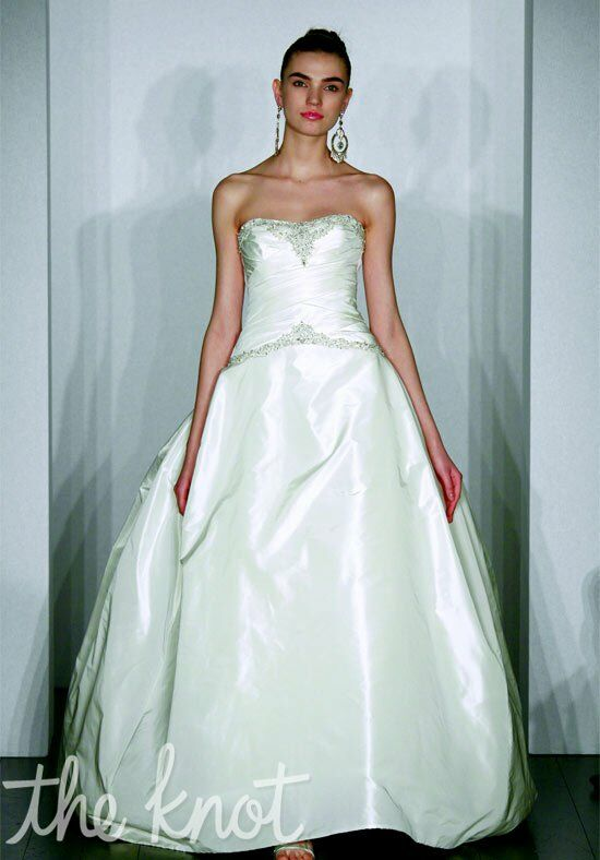 Kenneth Pool Perfection Ball Gown Wedding Dress