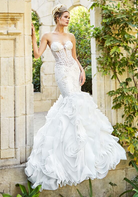 Moonlight Couture H1358A Mermaid Wedding Dress