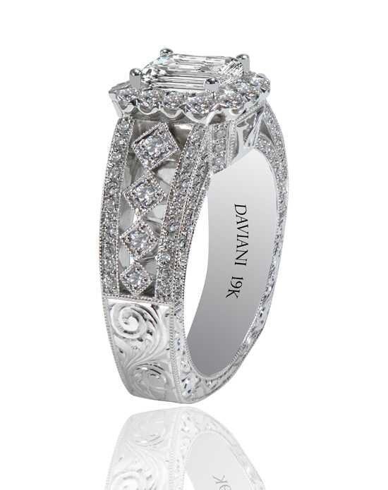 Daviani Love Links Collection DCR1160 Engagement Ring photo