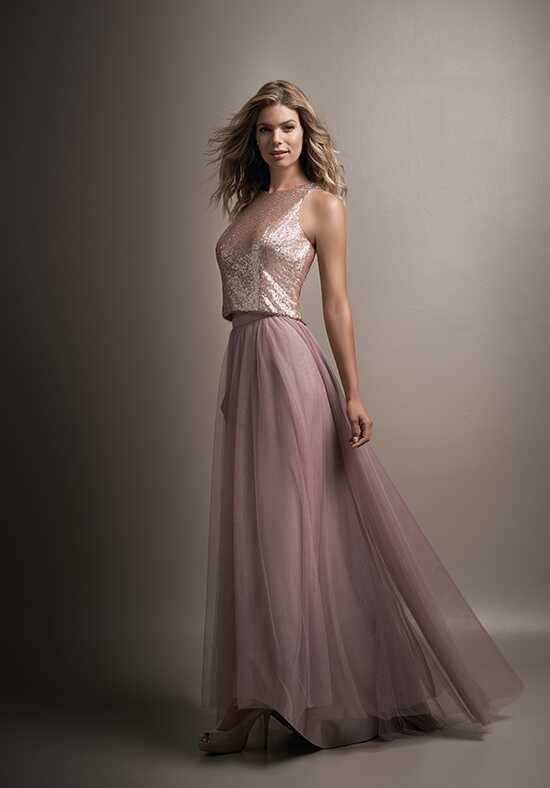 Belsoie L194006 Bateau Bridesmaid Dress