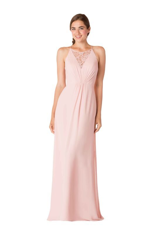 Bari Jay Bridesmaids 1708 Halter Bridesmaid Dress