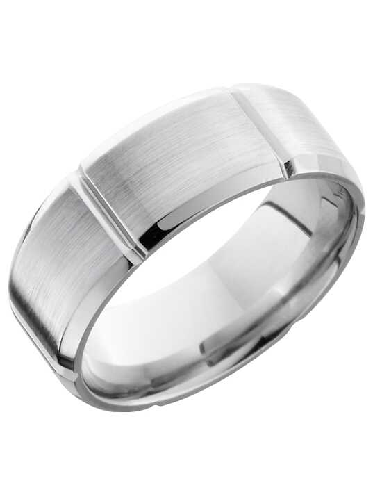 Platinum Jewelry Lashbrook PLAT8B6SEG Platinum Wedding Ring