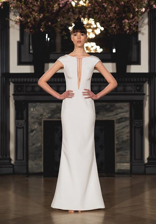Ines Di Santo Emma Sheath Wedding Dress