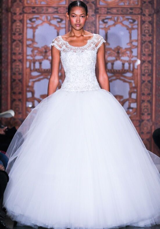 Reem Acra Full of Luck Wedding Dress