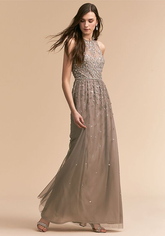 BHLDN (Bridesmaids) Ginny Dress Illusion Bridesmaid Dress