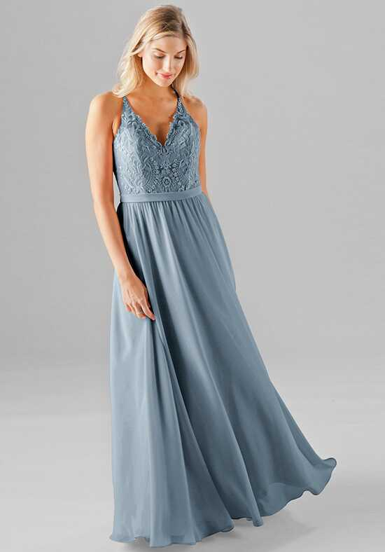 Kennedy Blue Iris V-Neck Bridesmaid Dress